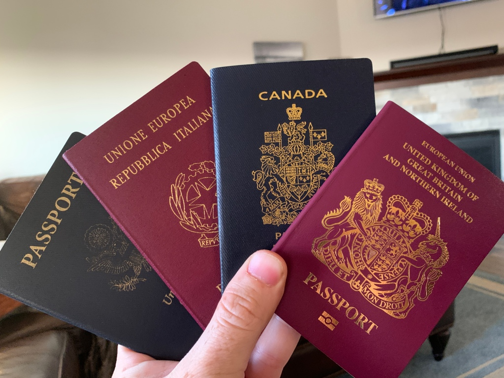 Due Passaporti. Two-Passport Travel. – Dual U.S. Italian Citizenship